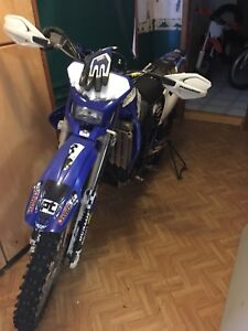 2001 Yamaha Wr250f open to trades for street bike
