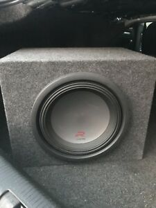 "12"" Alpine Type R w/ Ported box & Alpine M100 Amp"