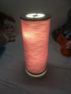 Bedside pink table lamp ikea