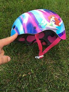 Little mermaid bike helmet