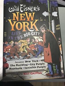 """Will Eisner """"Life in the Big City"""" Hardcover TP"""