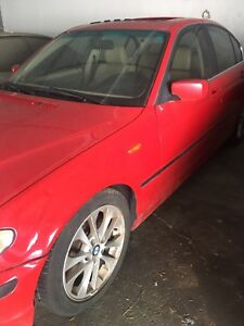 2003 BMW 330xi AWD JAPANROT RED