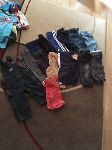 Boys clothing lots ranging in 3 to 9 months