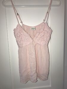 ABERCROMBIE & FITCH pink tank top