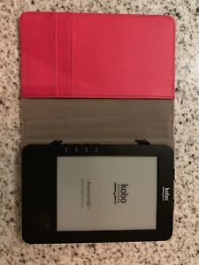 Kobo ebook reader and carrying case - brand new