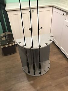 Fishing rod stand holder