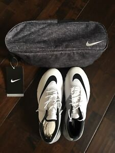 Brand new Nike golf shoes - comes with shoe bag - White