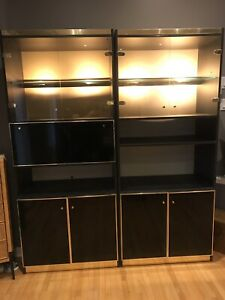 Display Cabinet Bar with Lights