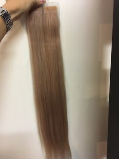 Hair extensions in cairns region qld health fitness beauty 22 champagne beige remy tape extensions pmusecretfo Image collections