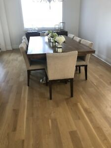 Dining room set (table and chairs)