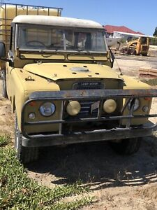 70s Land Rover ute sold pending pick up
