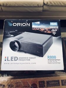 Orion R800 4K, 3D smart android Projector