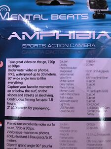 Underwater camera with many accessories