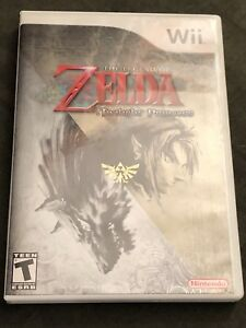 Zelda: Twilight Princess - Wii - $20