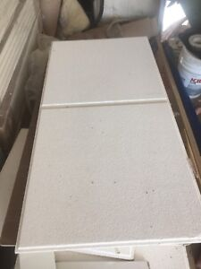 Ceiling tiles, with tracks Huge discount if sold by Oct 18