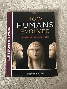 How Humans Evolved Textbook