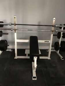 Apex commercial incline bench