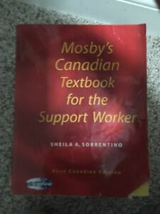 Mosby Canadian textbook for the support worker