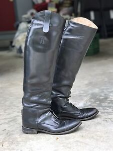 Hunter/Jumper Leather Riding Boots