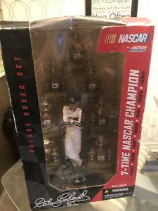 ACTION McFARLANE DALE EARNHARDT 7 TIME CHAMPION FIGURINE