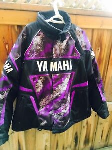 YAMAHA SNOWMOBILE RACING JACKET