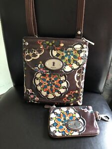 Fossil purse and change wallet