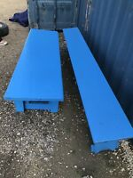 School benches $50 free delivery (204) 229-3266