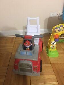 Rocking horse & toys