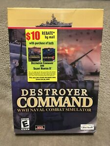 Brand New! Destroyer Command PC Game WWII Naval Combat Simulator