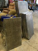 Exhaust duct heat shields