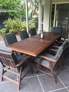 8 Piece Kwila outdoor setting Carindale Brisbane South East Preview