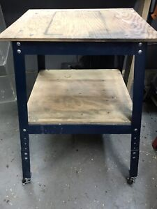 Tool stand on casters