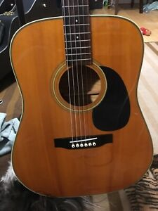 1970's Sigma/Martin Acoustic with Fishman Pickup added