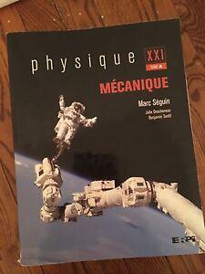 Physique mécanique tome A Marc Séguin