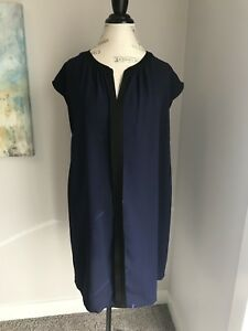Ripe Maternity Navy/Black tunic/Dress XL EUC