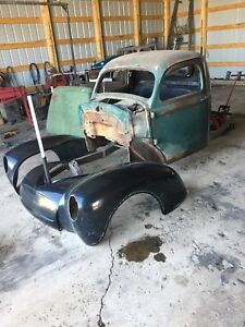 Willys gasser truck project