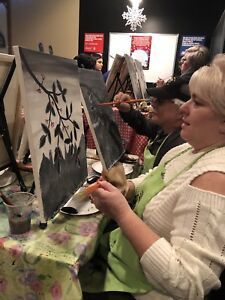 6 Paint Night tickets. Fees/tax included.