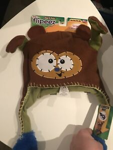 Brand New Flipeez Hat/Huggy the Monkey