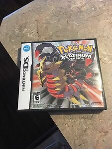 Pokemon platinum version for ds