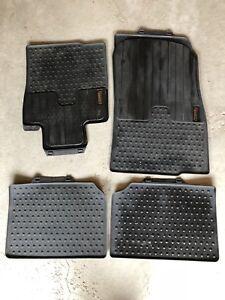 OEM winter mats from a 2010-2016 Mini Countryman