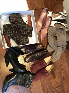 Bunch of size 8 shoes Steve Madden Jeffrey Campbell etc ..