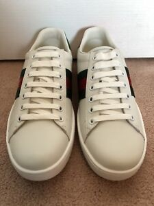 Gucci Ace Leather Sneaker Bee
