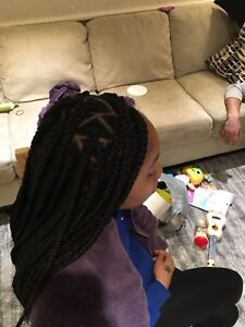 Braids, twists,  crochet and sew-ins at cheap rates