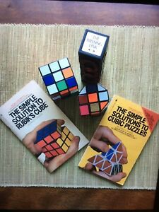 VINTAGE RUBIK'S CUBE COLLECTION