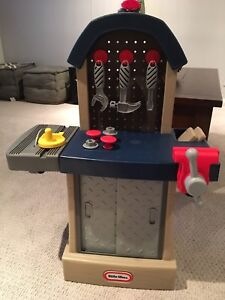 Little Tikes workbench ($15)