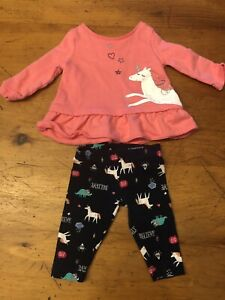 Unicorn Outfit (3 month baby girl)