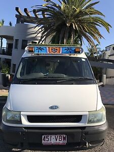 Ford transit campervan motorhome van surf safari road trip camper Coolangatta Gold Coast South Preview