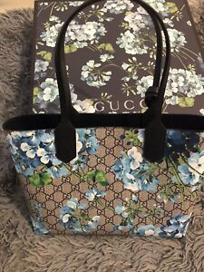 Gucci Blooms Reversible Tote - Small Size
