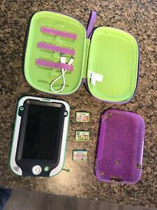 2 Leap Frog Leap Pad Ultra/cases/games
