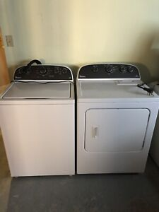 3 year old Whirlpool washer and dryer.